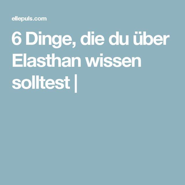 6 Dinge, die du über Elasthan wissen solltest |