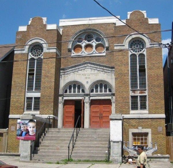 Синагога  в  Торонто.