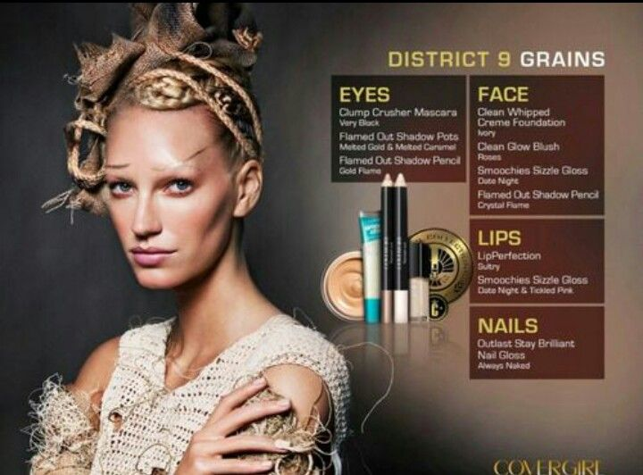 Hunger Games. Cover Girl. District 9.