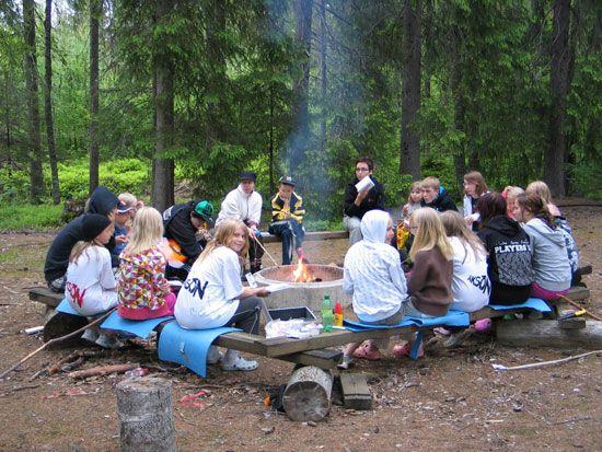 Äksön-harrasteleiri 2012