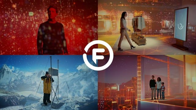 ***ALL THE VFX & ANIMATIONS IN THIS FILM WERE SHOT ENTIRELY IN-CAMERA USING VARIOUS PROJECTION TECHNIQUES AND WITHOUT THE USE OF ANY POST PRODUCTION TRICKERY!***  When the wonderful team at mcgarrybowen approached us to work on their new spot for Fujitsu using projections, we saw a fantastic opportunity to do something new with the technique. This is the fourth in a series of films from Fujitsu based around their brand message of 'Human Centric Innovations'. Entitled 'Digital…