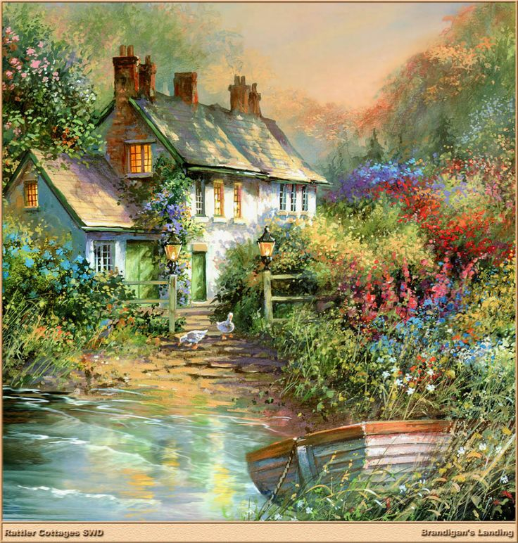 153 best storybook cottage in art images on pinterest for Piani di casa cottage storybook