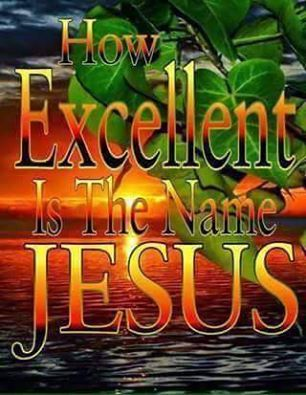 Jesus is Lord!                                                                                                                                                                                 More