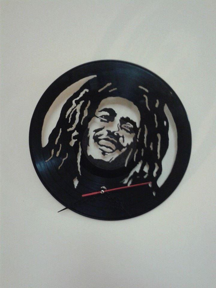 28 best images about reloj en disco de vinilo on pinterest - Vinilo bob marley ...