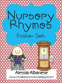Nursery Rhymes Poster Set Mini Unit Free As Of This Pin