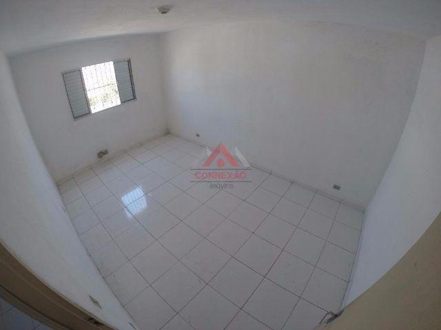 Sobrado residencial para locação, Cidade Cruzeiro do Sul, Suzano
