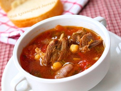 Французкий суп лук порей