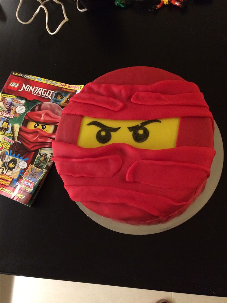 Lego Ninjago cake. My first fondant cake. I made this for his 4th birthday.