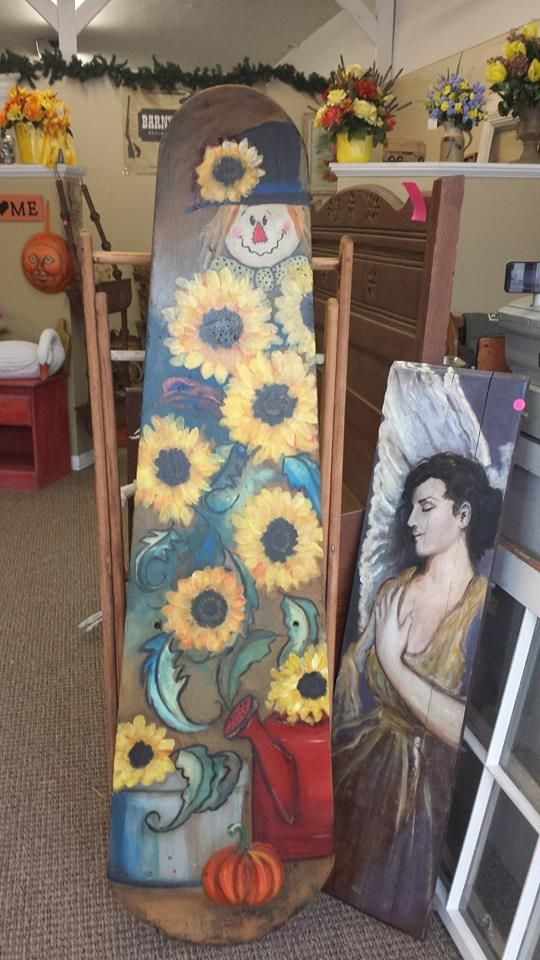 10 Images About ★ Wooden Ironing Boards ★ On Pinterest