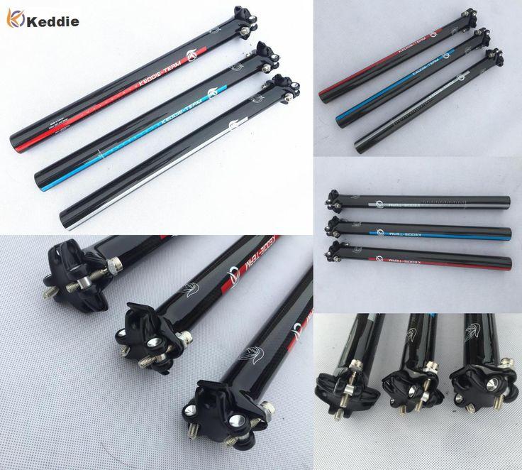 [Visit to Buy] Keddieb Newest Mountain Bicycle Carbon Seatpost Road Carbon Fibre Bike Seatposts MTB Parts 27.2 30.8 31.6*350 400mm #Advertisement