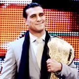 Alberto Del Rio! That is one handsome World Heavyweight Champion!
