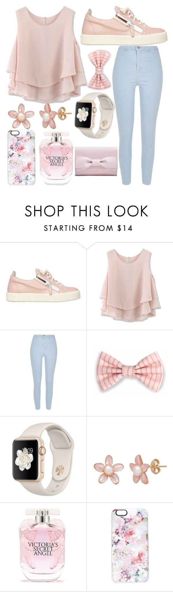 """Untitled #64"" by foreveritaly ❤ liked on Polyvore featuring Giuseppe Zanotti, Chicwish, River Island, Victoria's Secret and Casetify"