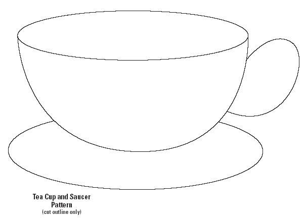7 Best Images Of Tea Cup Template Free Printable And Saucer
