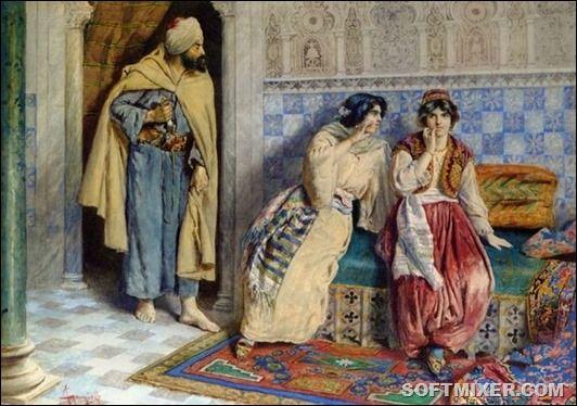 Гарем.Если фаворитка становилась женой султана (кадын-эфенди), ей присылали новые ткани, драгоценности и письменное свидетельство о браке. Жены, которые имели несколько детей, назывались хасеки (в 16-18вв). Впервые хасеки назвал свою жену Хюррем (Роксолану) султан Сулейман Великолепный.