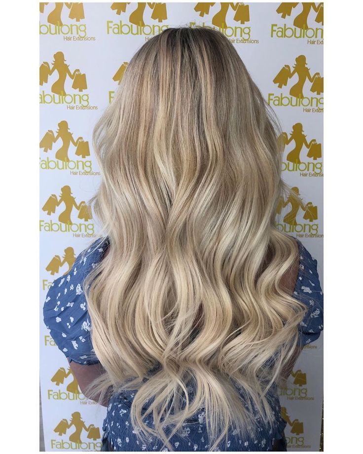 This hot mamma wanted her long blonde locks back s…