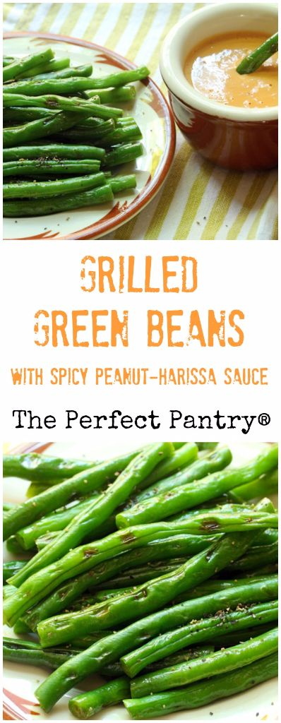 Grilled green beans, Green beans and Beans on Pinterest