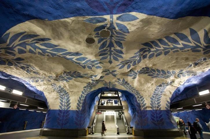 TOUR D'EUROPE DES PLUS BEAUX MÉTROS : Stockholm