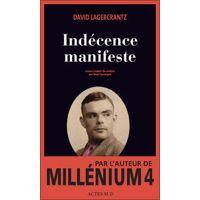 Indécence manifeste par David Lagercrantz