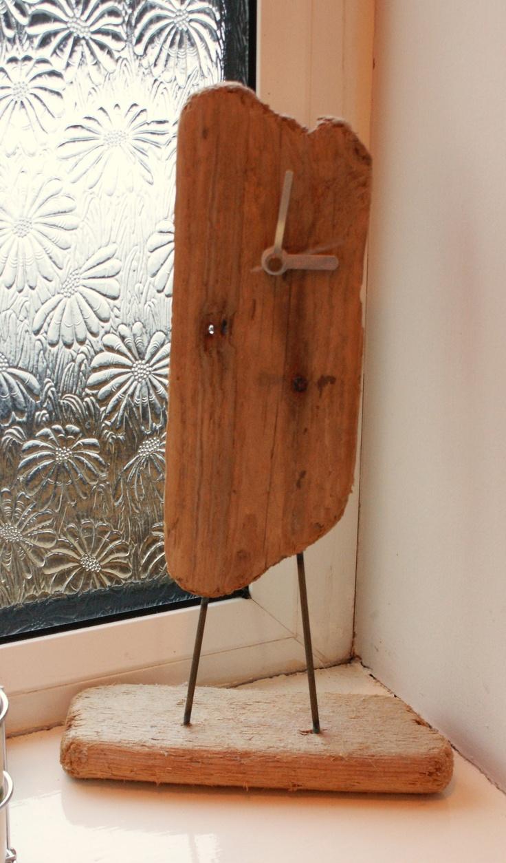 Bespoke Driftwood Clock