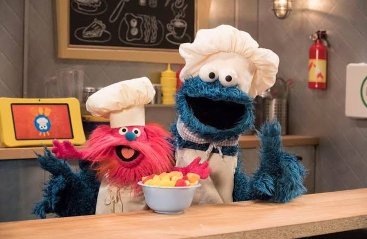 Picture of Cookie Monster and Gonger's