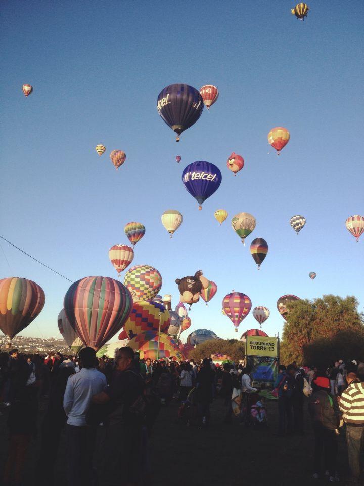 Feria internacional del globo León Gto!