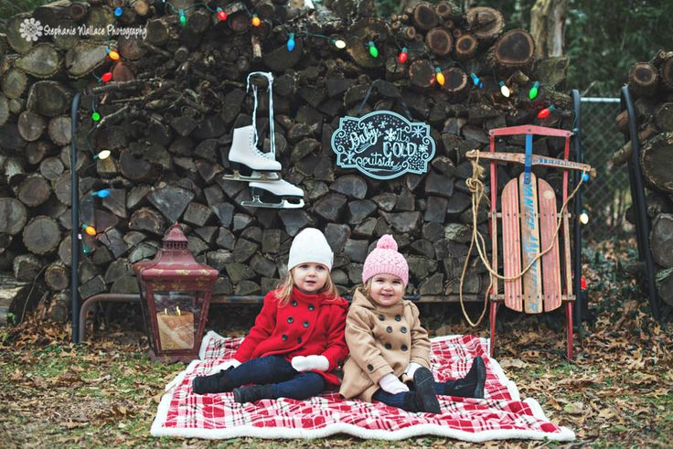 Outdoor Christmas Photo Ideas Winter Portraits Outdoors