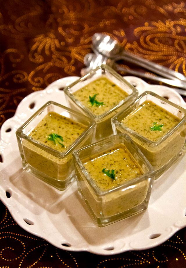Krämig grönkålssoppa