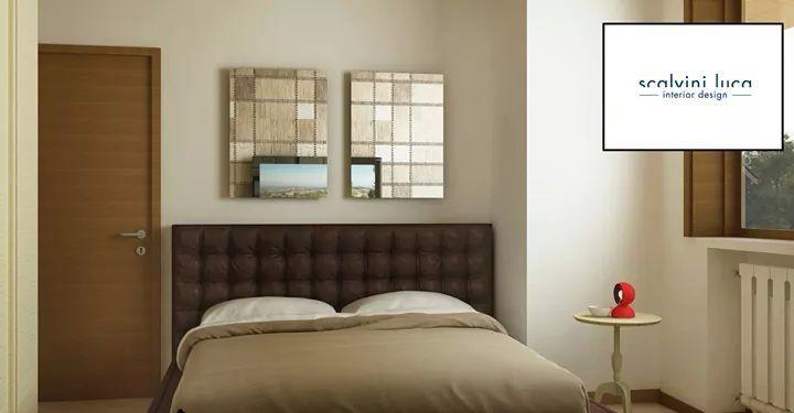 Progettazione di un piccola stanza da letto utilizzando un letto contenitore per contenere lo spazio e alleggerire la camera