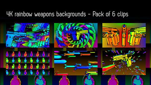 quicktime官方网站_Pack of 6 clips in 4K resolution (4096×2304. Quicktime Photo-JPEG codec) of guns ...