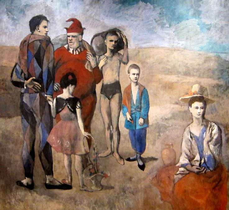 Family of Saltimbanques is a 1905 painting by Pablo Picasso. It is considered the masterpiece of Picasso's Rose Period sometimes called Picasso's circus period.