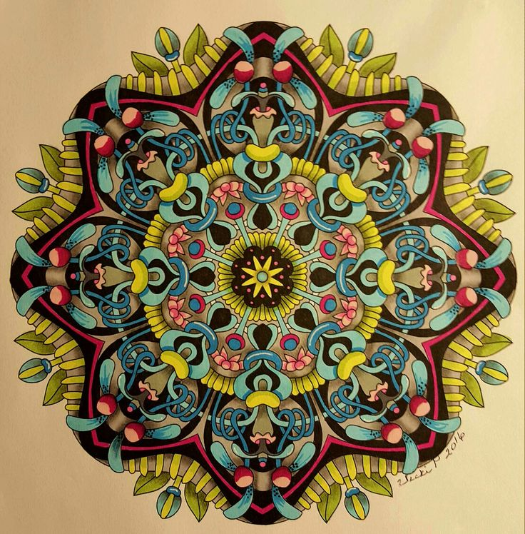 Foldaway Tote - Yinyang Mandala Shoppers by VIDA VIDA aMP6b