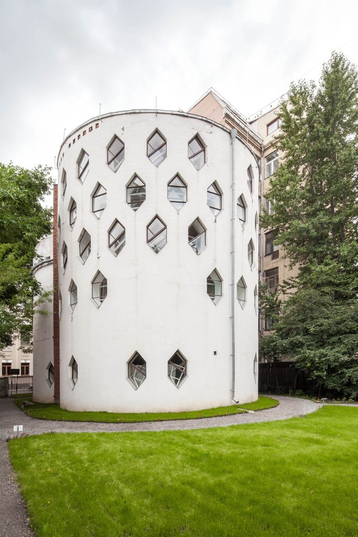 Built by Konstantin Melnikov in Moscow, Russian Federation with date 1929. Images by Will Webster. The Melnikov House by architect Konstantin Melnikov is a classic residence that represents the forefront of the 1920'...