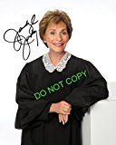 #8: Judge Judy Sheindlin reprint gorgeous signed photo #3 RP