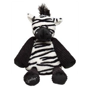 "Zuku the Zebra Scentsy Buddy    Cheerful and snuggly, Zuku the Zebra is approximately 8"" tall when seated and approximately 12"" tall from head to toe. She comes alive with fragrance when you place a Scent Pak in the zippered pocket in her back."