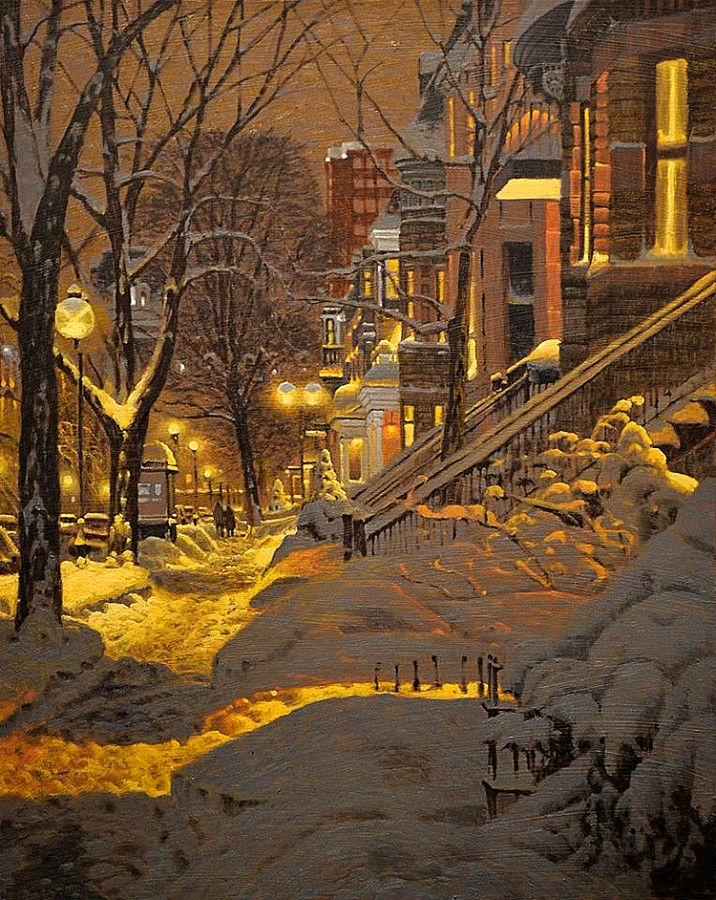 Richard Savoie is a Quebec painter born in Moncton New Brunswick.