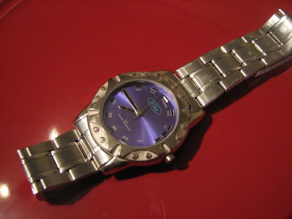 Terrific FORD company mens watch with purple by MoInKiBeadDesigns, $34.00