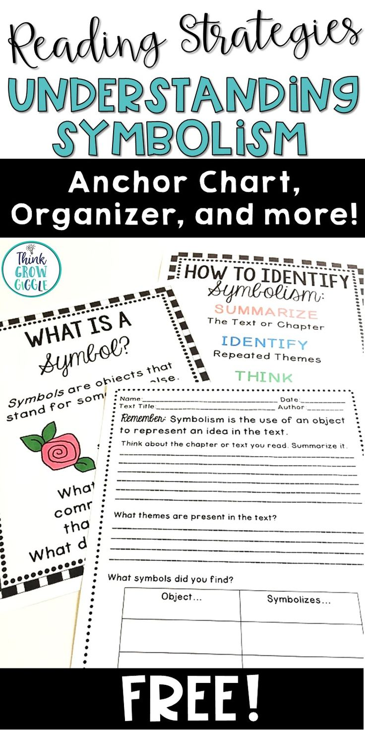 The 25 best text symbols ideas on pinterest cool text symbols help your students understand symbolism as they read complex texts with these free symbolism anchor charts biocorpaavc