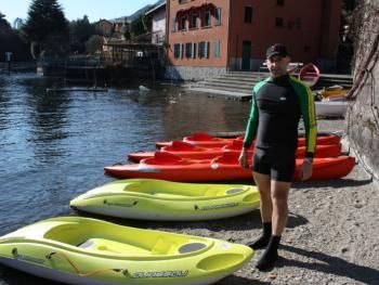 Bellagio water sports.. kajak rental and guided tours on the lake