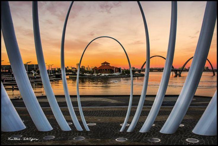 Florence Hummerston Kiosk & Spanda Sculpture, Perth.