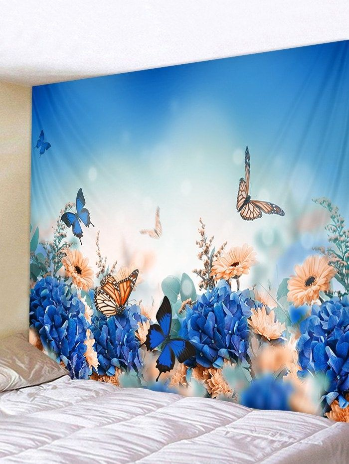 Dresslily Com Photo Gallery Flowers And Butterfly Print