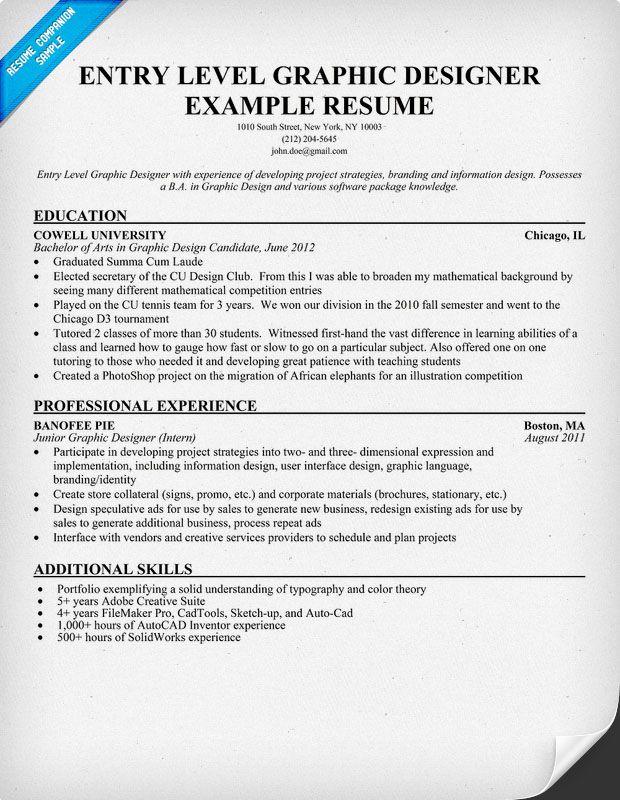 interior designer resume sample