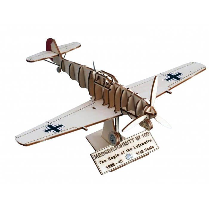 houten vliegtuig speelgoed - Messerschmitt