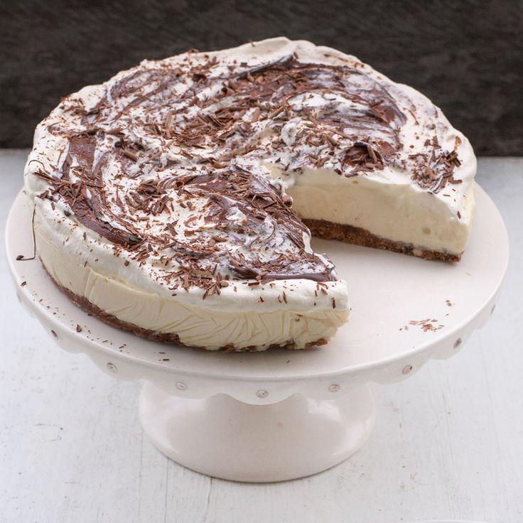 En supergod chokladcheesecake för alla chokladälskare!