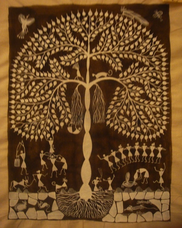 Warli fold art of India