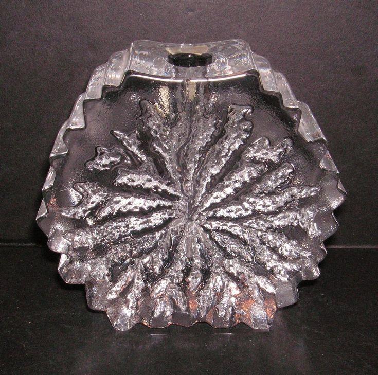 "Norway Crystal ""Nautilus"" Hadeland Vase - Willy Johansson - 1970s   eBay"