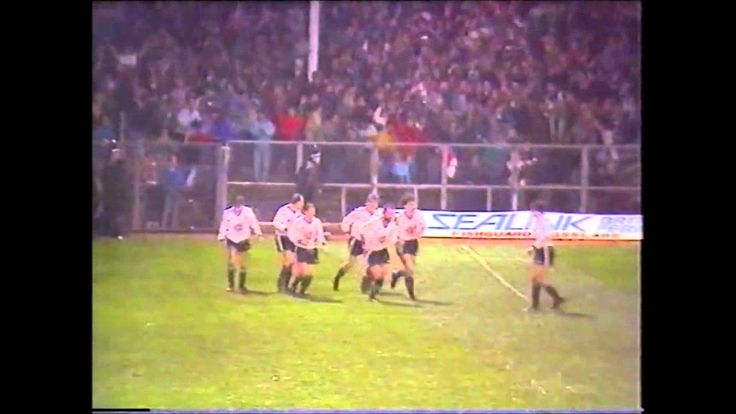 Swansea City v Merthyr Tydfil Welsh Cup 4th Round 1987 1988