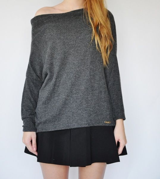 Sweter open back w BOKKO na DaWanda.com
