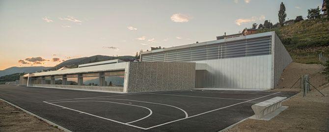 Grupo escolar, Font-Romeu (Languedoc-Rosellón, Occitania, Francia) | RCR Arquitectes