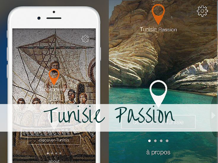"""Tunisie Passion"" - Quand le tourisme Tunisien se digitalise ? Le tourisme en #tunisie passe au #digital pour booster le #tourisme culturel grâce à l'application ""Tunisie Passion"""