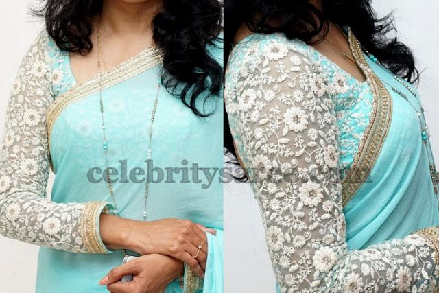 Sunitha Singer Full Sleeves Blouse - Saree Blouse Patterns